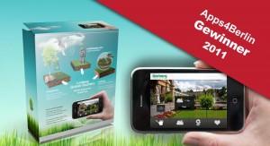 Lorberg Grüner Daumen gewinnt  Apps4Berlin Contest 2011